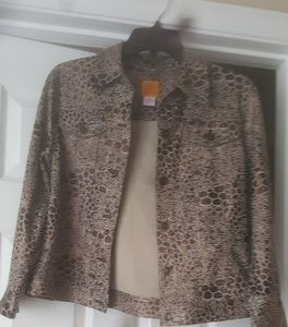 Ruby Rd size 8 banded jacket